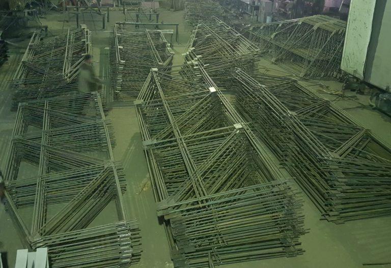 Сварные каркасы на АО Казахмыс, Балхаш